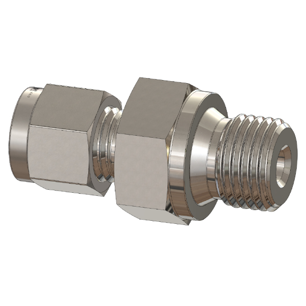 ISO/BSPP Parallel Thread Tube Fitting Connector