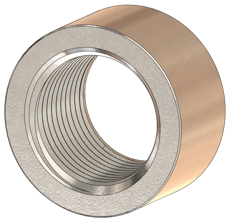 NPT Weld-On Bung, 316 Stainless Steel