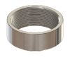 NPT Weld-On Bungs, 316 Stainless Steel